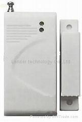 Wireless Door Window Magnetic Contact Detector for Home Alarm System