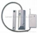Wireless Door Window Magnetic Contact Detector for Home Alarm System 4