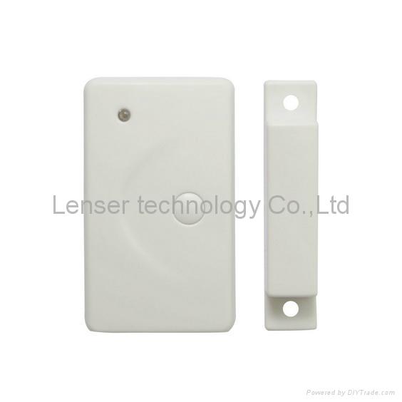 Wireless Door Window Magnetic Contact Detector for Home Alarm System 5