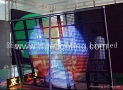LED Net Screen with 37.75mm for outdoor stage light