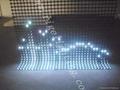 LED flex grid display/led rolling display/led soft display 3