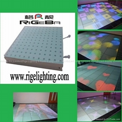 LED interactive dance f