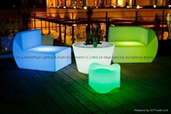 China supplier led furniture modern design led illuminated sofa (Hot Product - 1*)