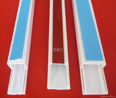 pvc cable trunking with sticker
