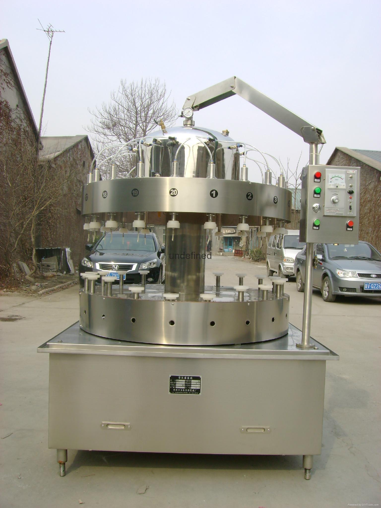 鲜啤酒灌装机 5