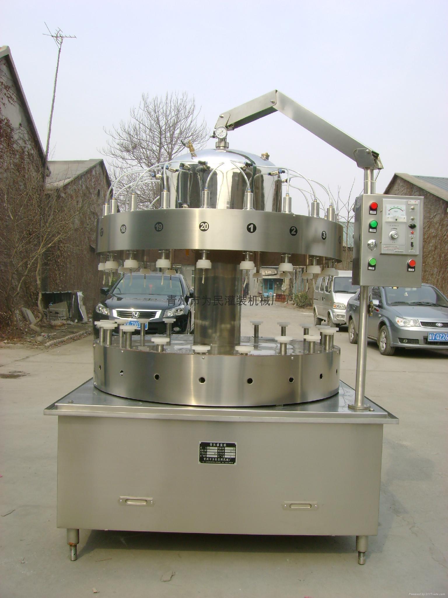 2升桶扎啤鲜啤灌装机 3
