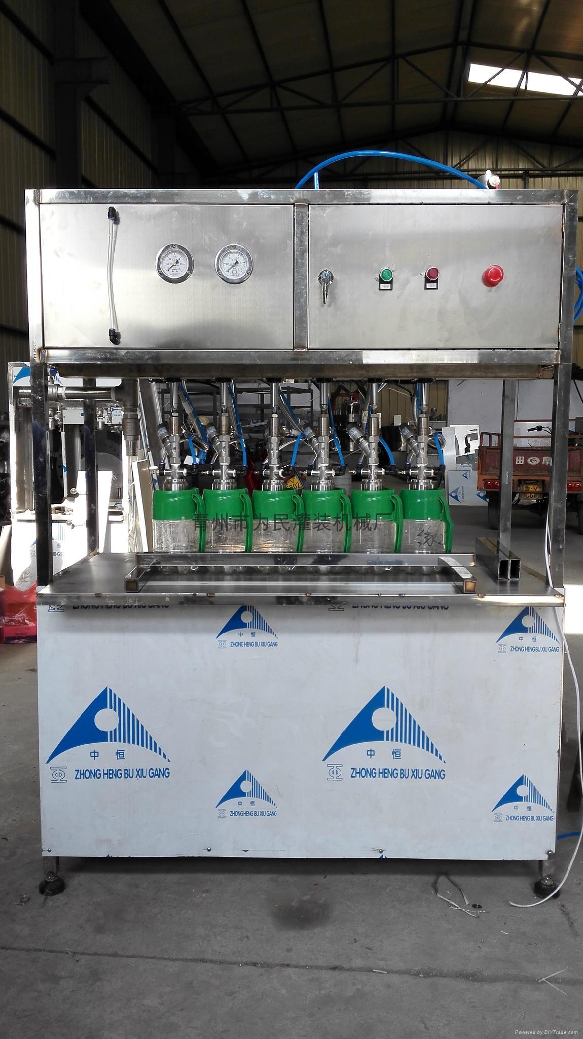 WM-12扎啤鲜啤灌装机 2
