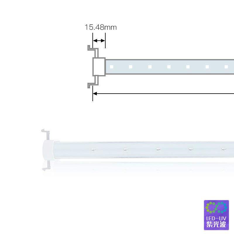 Mosquito lamp LED PC manufacturers selling 365 nm ultraviolet UV glass model 2