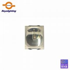 2835帶球頭凸杯透鏡款LED 365-375NM