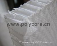waterproof light weight honeycomb core honeycomb panel