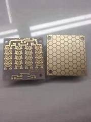 Ceramic line board, ceramic base electric circuit board