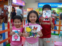 環保儿童烤膠畫