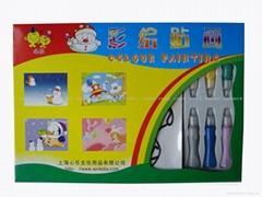 批發/銷售膠畫大禮盒 上海心樂文化用品有限公司