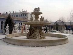 歐式噴泉水缽