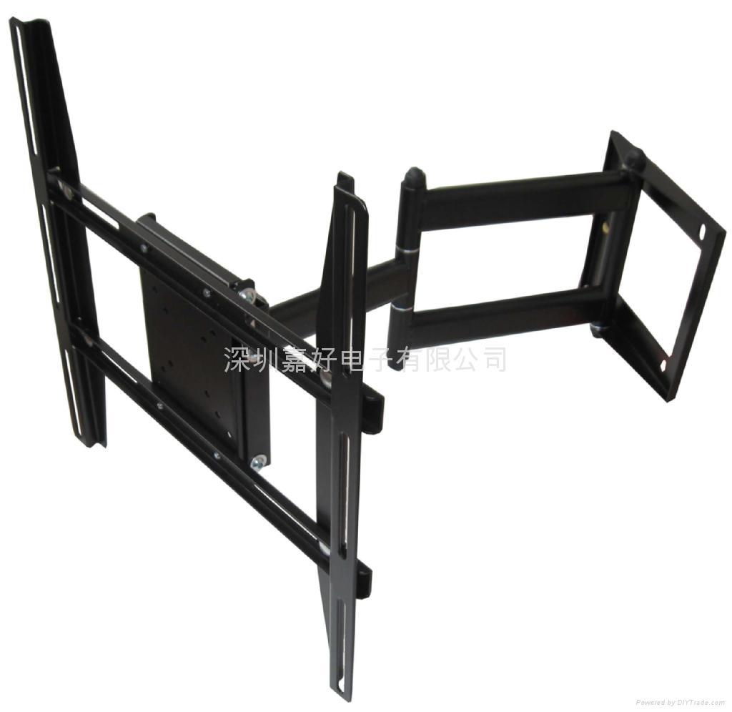 液晶显示器伸缩旋转挂架 液晶电视多功能挂架 1