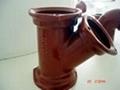 铸铁TY三通B型管件厂家价格