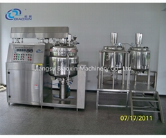 BXZRH Vacuum emulsifying mixers(external homogenization)