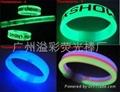 Glow stick bracelet