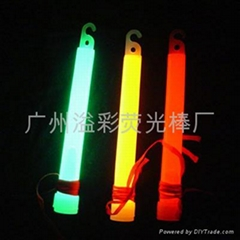 With hook 6 inch Glow Stick for halloween , Chrictmas