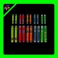 mini 1.5 inch glow stick, 4.5*39mm glow stick fishing light sticks 1