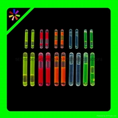 mini 1.5 inch  glow stick, 4.5*39mm glow stick fishing glow sticks