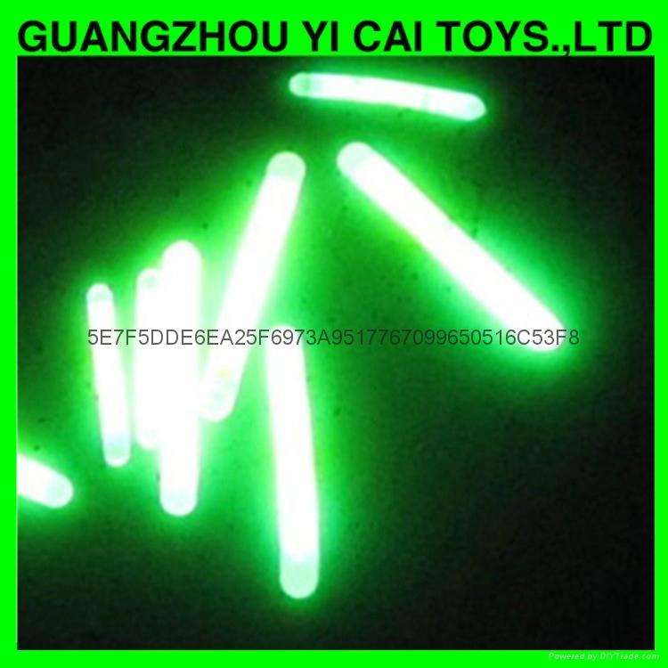mini 1.5 inch glow stick, 4.5*39mm glow stick fishing light sticks 4