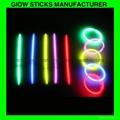 Glow stick bracelet, 8 inch glow sticks