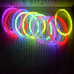 5*200mm glow stick for 8 inches glow bracelet