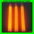 With hook 6 inch Glow Stick for halloween , Chrictmas 2