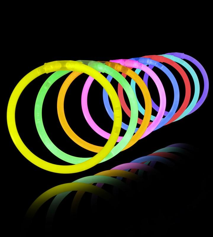 Glow stick party pack, 5*200mm glow stick 3