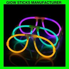 Glow stick glasses, glow eyeglasses
