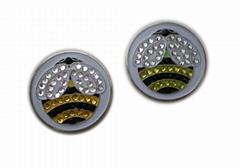 crystal ball markers and hat clips