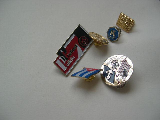 Lapel Pin Key Chains  1