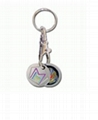 Lapel Pin Key Chains  2