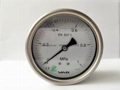 全不锈钢压力表