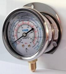 不锈钢冷媒压力表