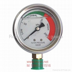 VAB不锈钢压力表