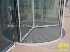 赛瑞最专业的门厅铝合金除泥地垫