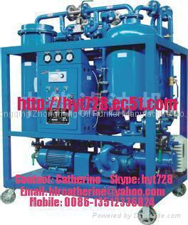 Vacuum Emulsified Turbine Oil Filtration Plant 1