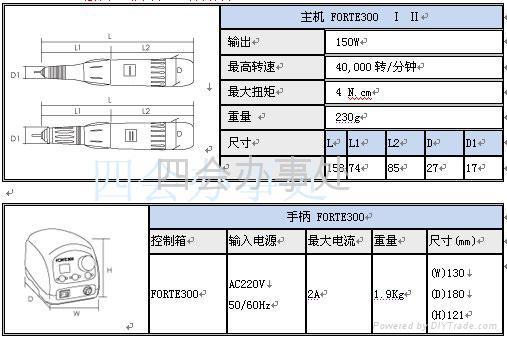 世新雕刻打磨机FORTE-300 4