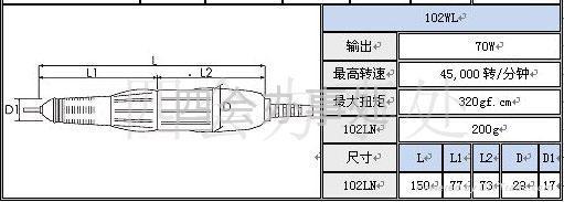 世新雕刻打磨机JC100A+102WL 4