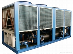 100HP风冷式螺杆冷水机组