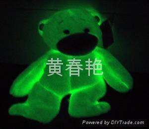 夜光毛絨玩具 2