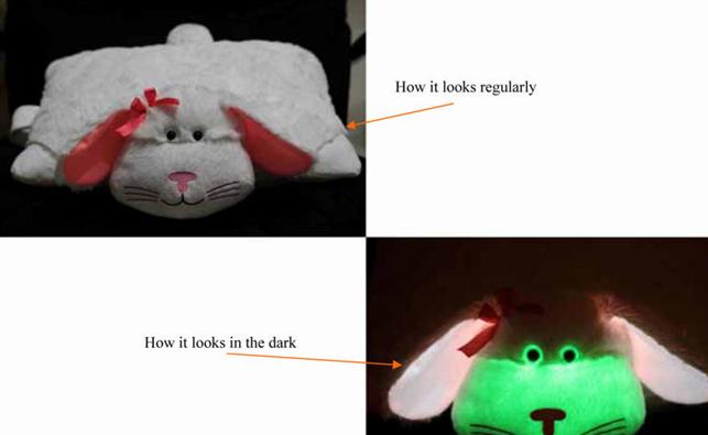 夜光毛絨玩具 4