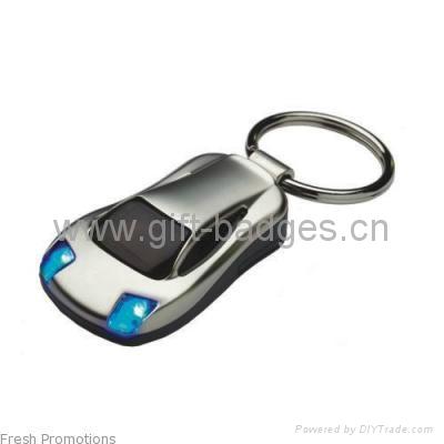 汽车太阳能钥匙扣 2