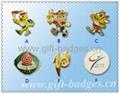 zinc base alloy badge ramming medal  2