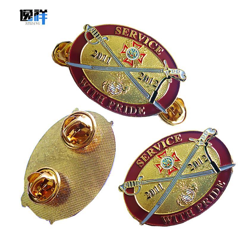 金属胸章徽章 5