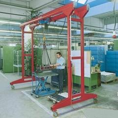 电动起重吊物设备移动式龙门吊架