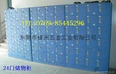 钢制门式寄存储物柜