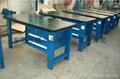 铸铁平台配支架重型钳工工作台 3